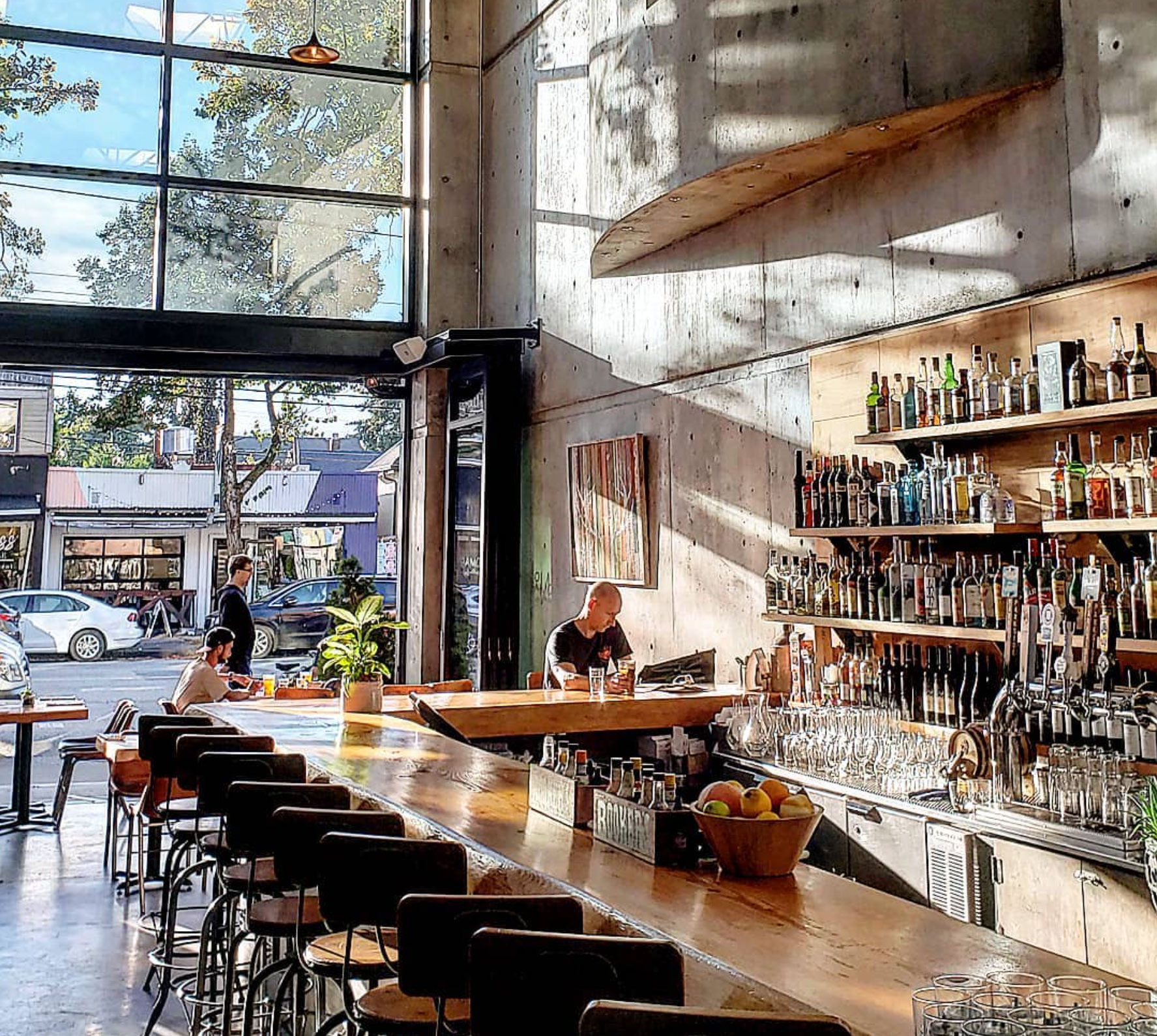 nomad restaurant on Main Street, vancouver is a participant in the put a cork in it cork recycling program
